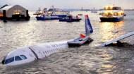 Plane In River