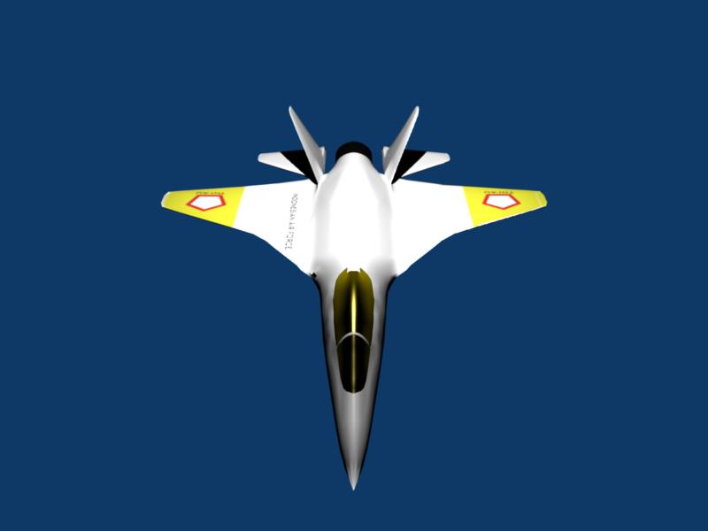 ... Biru Desain Pesawat Tempur Indonesia Yang Telah Bocor di Internet