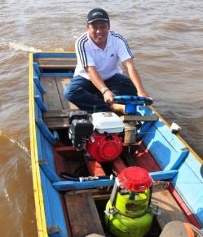 Inovasi Perahu Motor Berbahan Bakar Dari Kubu Raya