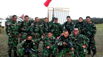 militer indonesia peserta lomba